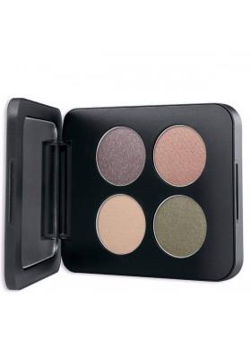 Pressed Mineral Eyeshadow Quad - GEMSTONES