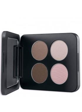 Pressed Mineral Eyeshadow Quad - SHANGHAI NIGHTS