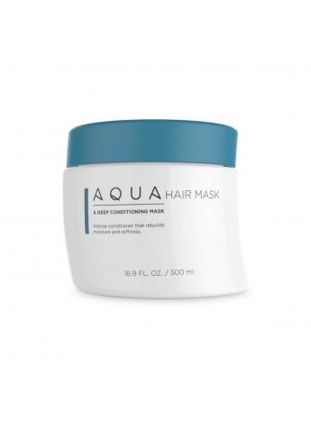 Aqua Hair Extensions Mask