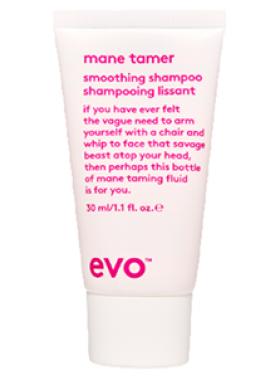 mane tamer smoothing shampoo travel size
