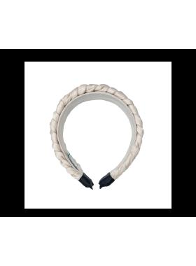 Ivory Braided Headband