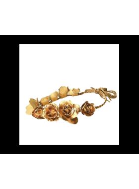 Gold Flower Crown