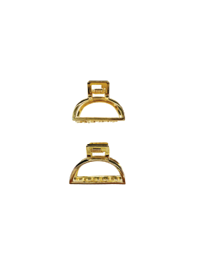 Gold Jaw Clips