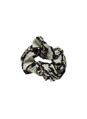 Snake Skin Scrunchie