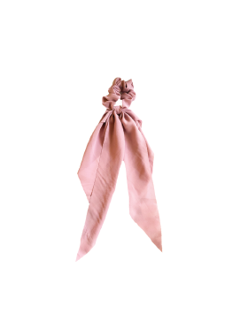 Soft Blush Darling Scrunchie