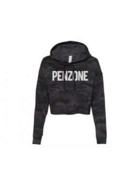 Penzone Cropped Camo Hoodie 2XL