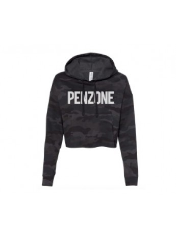 Penzone Cropped Camo Hoodie L